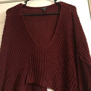 High Low Knit Oversized Sweater